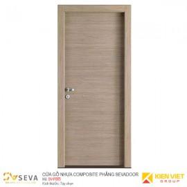 Cửa gỗ nhựa Composite phẳng Sevadoor SV-P005