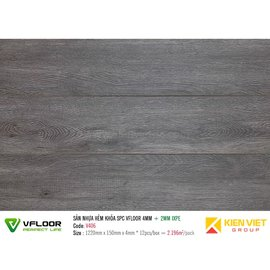 Sàn nhựa hèm khóa SPC Vfloor V406 | 4mm