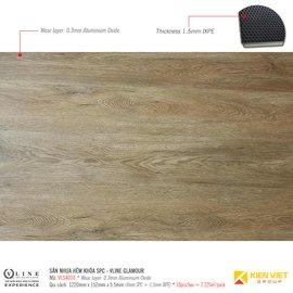 Sàn nhựa hèm khóa SPC - Vline Glamour VLS4010 | 5.5mm