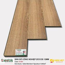 Sàn gỗ công nghiệp Ziccos CX951 | 12mm