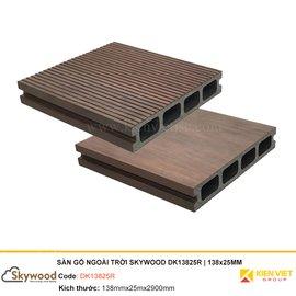 Sàn gỗ nhựa ngoài trời Skywood DK13825R | 138x25mm