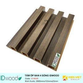 Tấm ốp nan 4 sóng ID Wood ID-902B | 153mmx25mm