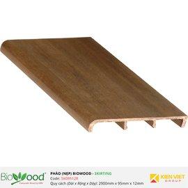 Phào nẹp 95x12mm Biowood SK09512R