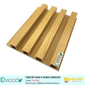 Tấm ốp nan 4 sóng ID Wood ID-005B | 153mmx25mm