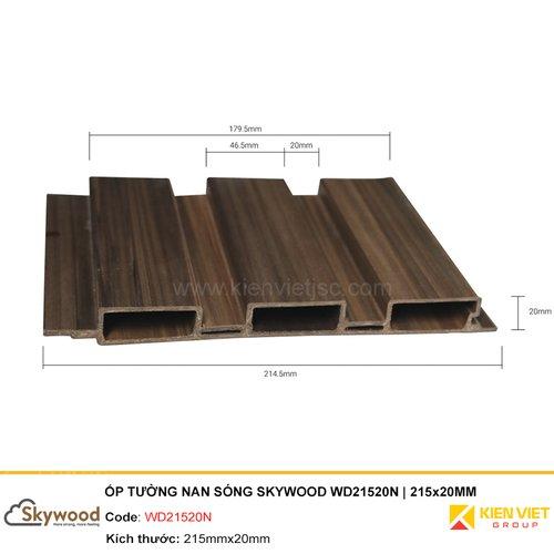 Tấm ốp tường nan sóng Skywood WD21520N   215x20MM