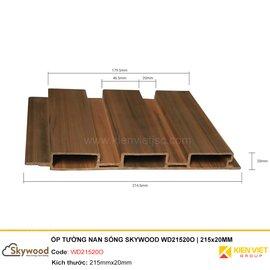 Tấm ốp tường nan sóng Skywood WD21520O | 215x20MM