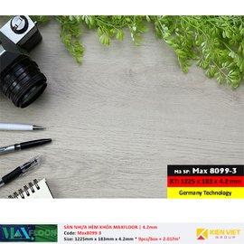 Sàn nhựa hèm khóa MaxFloor 8099-3 | 4.2mm