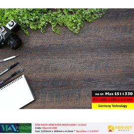 Sàn nhựa hèm khóa MaxFloor LS11330 | 4.2mm